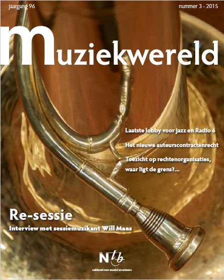 Muziewereld 3, 2015 cover