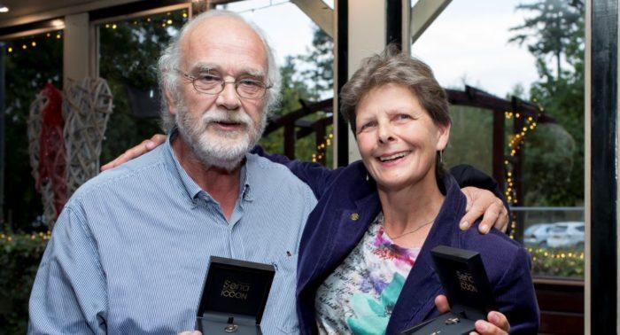 Sena Icoon voor Bert Ruiter en Simone Vierstra, foto (bewerkt) Yvonne van den Bergh