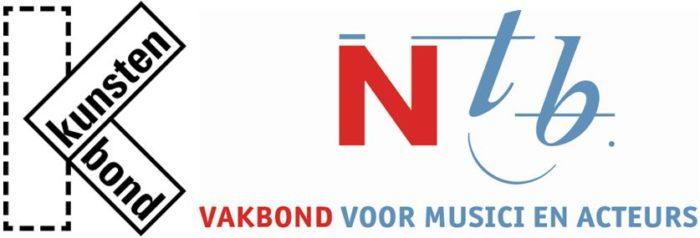 Kunstenbond & Ntb logo
